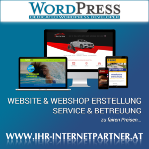 Website und Webshop Entwicklung